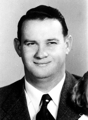 Harry B. Bradley, Trooper - District 12, Served: February 15, 1946, to October 24, 1957