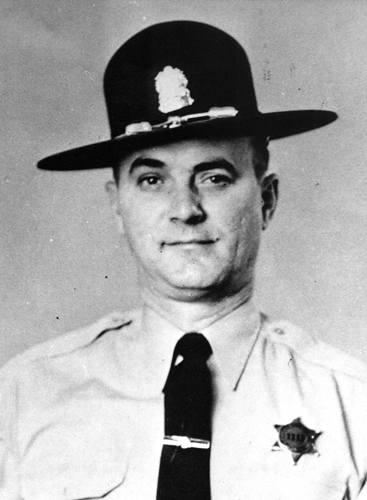 Richard G. Warner, Trooper - District 5, Served: October 28, 1957, to April 21, 1969