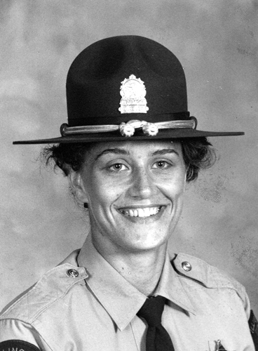 April C. Styburski, Trooper - District 2, Served: June 16, 1986, to January 5, 1990