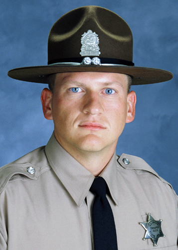 Brian McMillen, Trooper - District 9, Served: August 6, 2006, to October 28, 2007