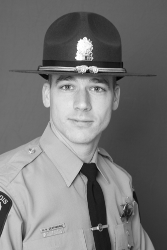 Kyle Deatherage, Trooper - District 18, Served: May 31, 2009, to November 26, 2012