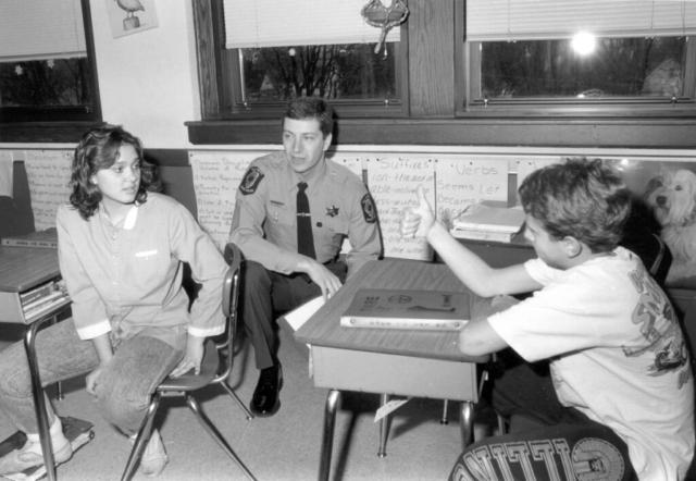 Drug Awareness Resistance Education in schools (DARE) 1980s