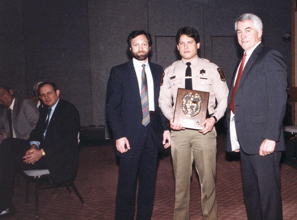 Award presentation – 1980s