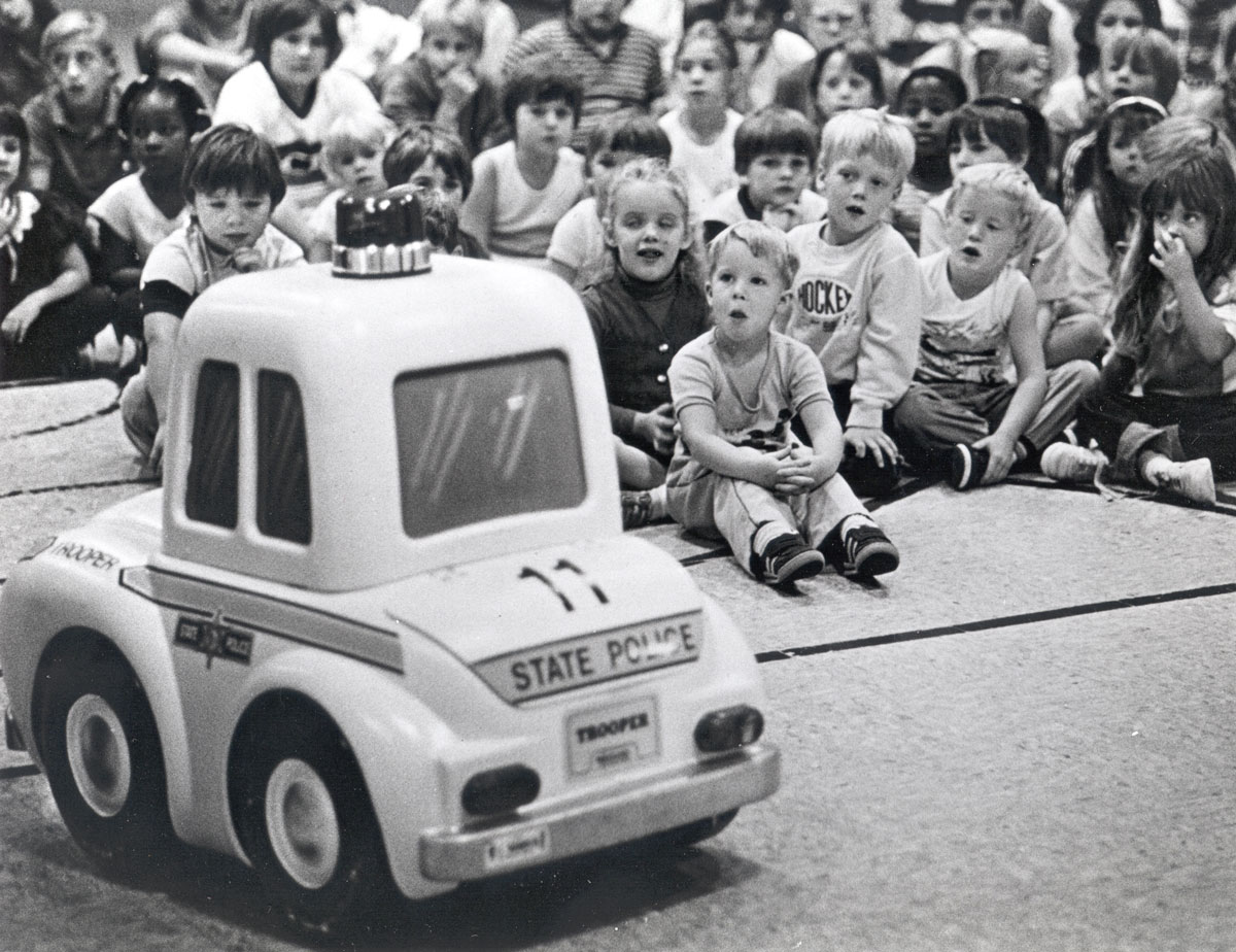 Public safety education 1980s