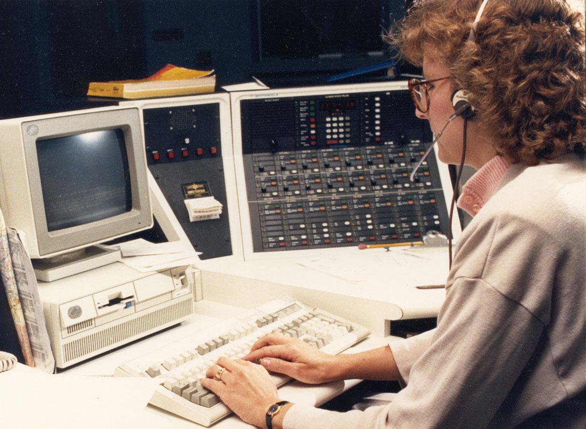 Telecommunicator – 1980s