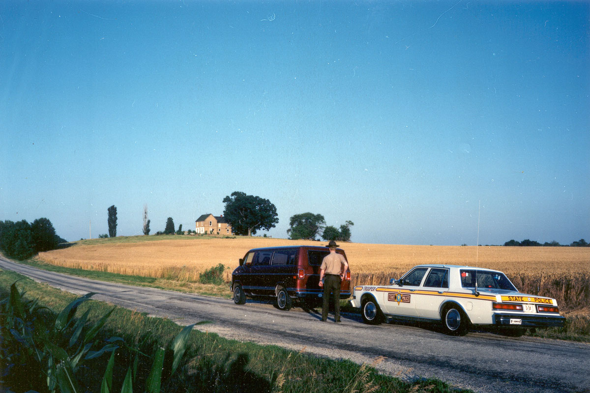 Traffic stop training 1980s