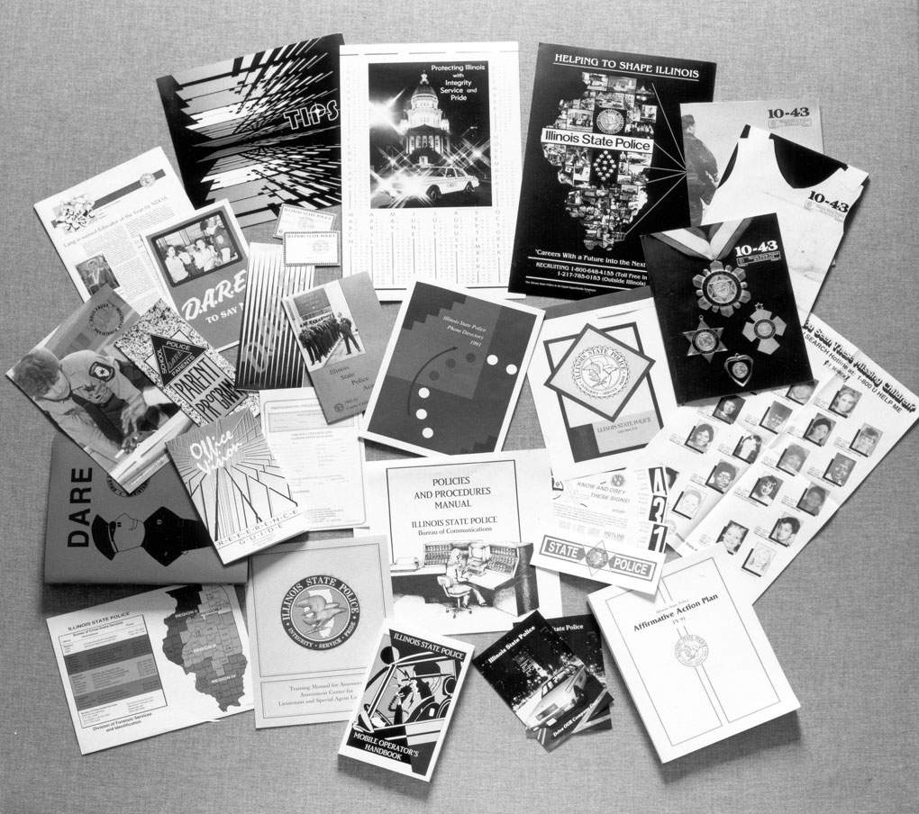 Printed materials used by ISP – 1990s