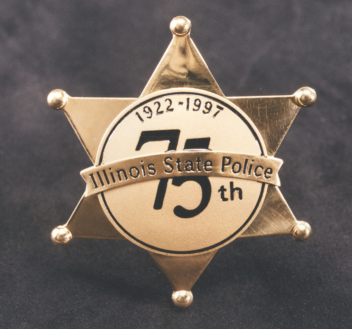 75th Anniversary star