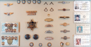 Service pins, IDs & other insignia