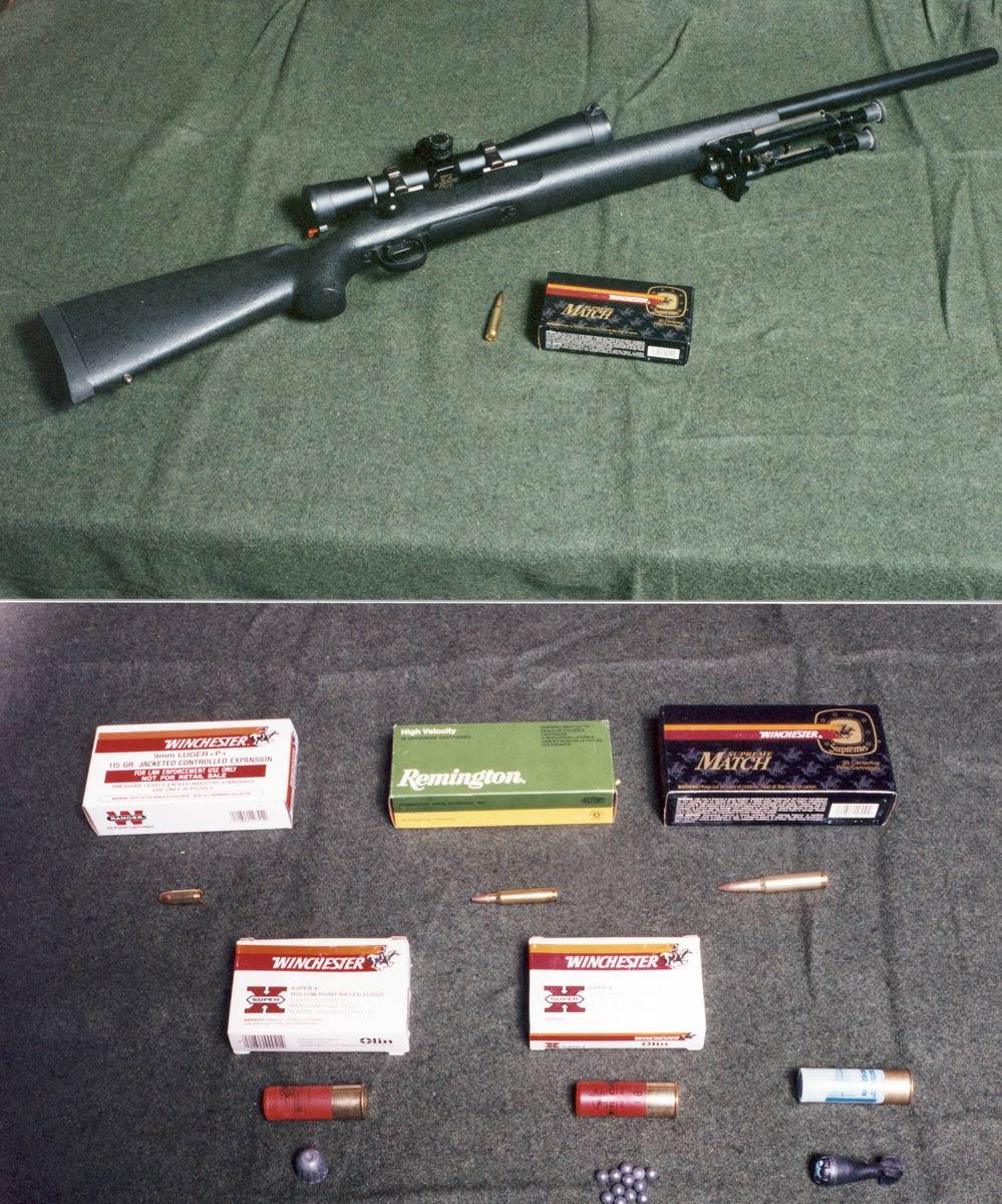 Remington 700 (.308 Win) scoped Sniper rifle