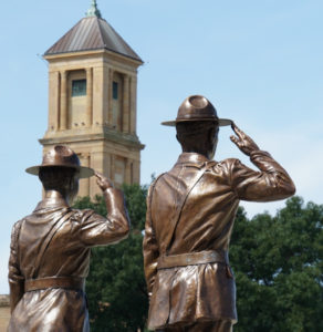 Illinois State Police Memorial Park in Springfield IL was created as a tribute to honor the memory of the officers who died in the line of duty. Since 1922 when the Illinois State Police was formed, seventy officers have given their lives.