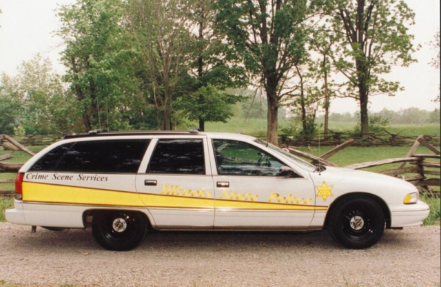 Crime Scene Services 1993 Chevrolet Caprice