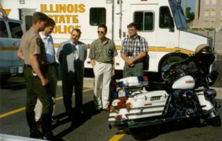 1994 Harley-Davidson FLHTP motorcycle